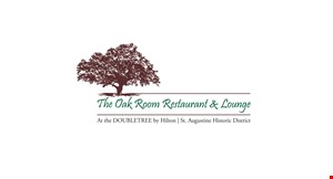 The Oak Room Restaurant & Lounge at The Doubletree logo