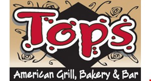 Tops American Grill, Bakery & Bar logo