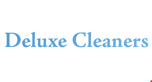 Deluxe Cleaners logo