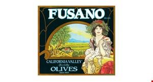 Fusano California Olive Company logo