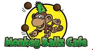 Monkey Ballz Cafe logo
