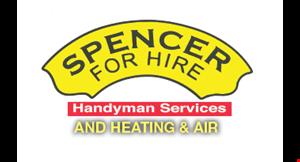 Spencer for Hire logo