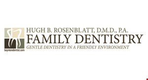 Hugh B. Rosenblatt, D.M.D., P.A. Family Dentistry logo
