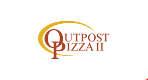 Outpost Pizza logo