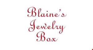 Blaine's Jewelry Box logo
