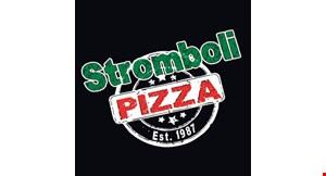 Stromboli Pizza logo