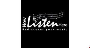 Now Listen Here logo