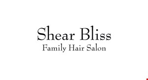Shear Bliss Family Hair Salon logo