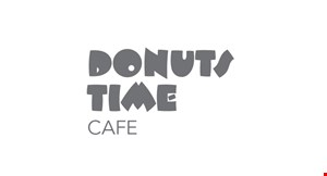 Donuts Time Cafe logo