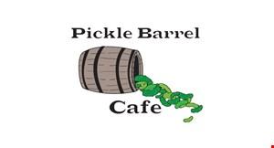 Pickle Barrel Cafe logo