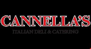 Cannella's Italian Deli & Catering logo