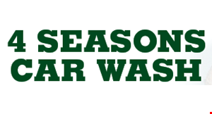 4 Season's Car Wash logo
