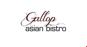 Gallop Asian Bistro logo