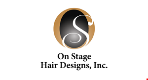 On Stage Hair Inc logo