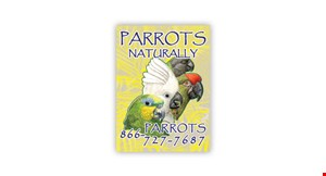 Parrots Naturally logo