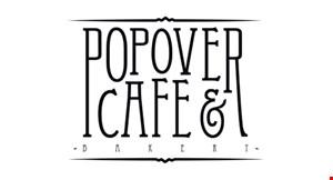 Popover Cafe    &  Bakery logo
