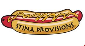 Stina Provisions logo