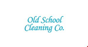 Old School Cleaning logo
