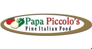 Papa Piccolo's logo