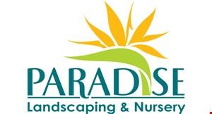 Paradise Landscaping and Nursery logo