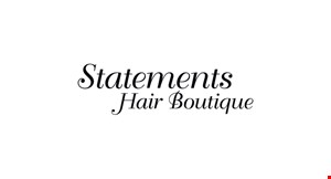 Statements Hair Boutique logo