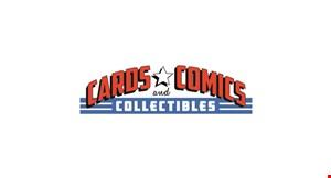 Cards Comics & Collectibles logo