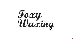 Foxy Waxing logo