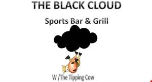 The Black Cloud Sports Bar & Grill logo