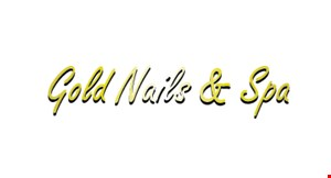 Gold Nails & Spa logo