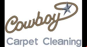 Cowboy Carpet Cleaning logo