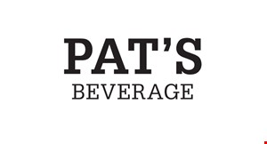 Pat's Beverages logo