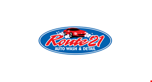 Route 21 Auto Wash and Detail logo