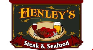 Henley's Steak and Seafood logo