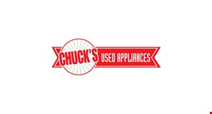 Chuck's Used Appliance logo