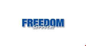 Freedom Home  Service logo