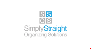 Simply Straight  Organizing Solutions logo