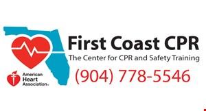 First Coast CPR logo