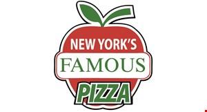 New York's Famous Pizza logo