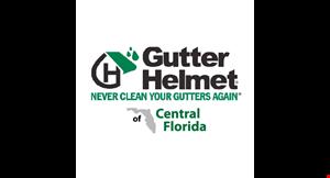 Gutter Helmet of Central Florida logo