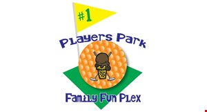 PLAYERS PARK FAMILY FUN PLEX logo