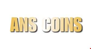 Ans Coins, Quakertown logo
