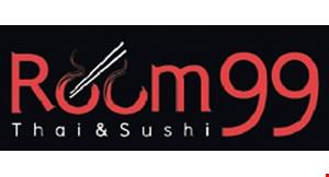 Room 99 Thai & Sushi logo