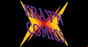 Krav'n Comics logo