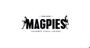 Magpies Gourmet Pizza logo