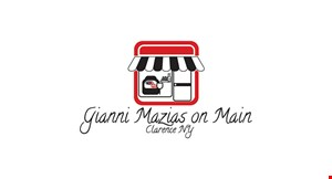Gianni Mazias on Main logo