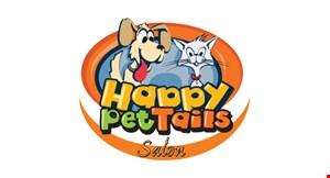 Happy Pet Tails Salon logo