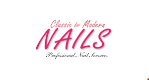 Classic to Modern Nails logo