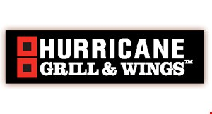 Hurricane  Grill and Wings logo