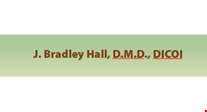 J. Bradley Hall, DMD logo