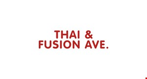 Thai & Fusion Ave. logo